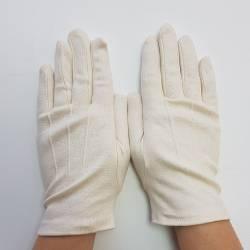 Gants en coton biologique pour femme et homme sans traitement, pour soins des mains.