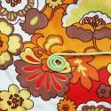 TISSU COTON 100 cm/150 cm+ 5 mètres de LACET POLYESTER