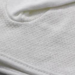 Gant Blanc Coton avec grip pour petites et grandes mains.