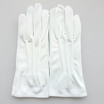 Gant Blanc Nylon officier pour femme et homme.